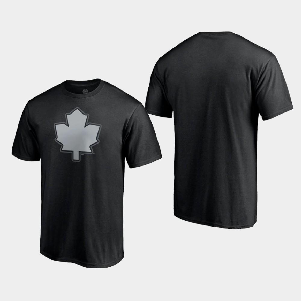 Men's Toronto Maple Leafs Reverse Retro Black T-Shirt