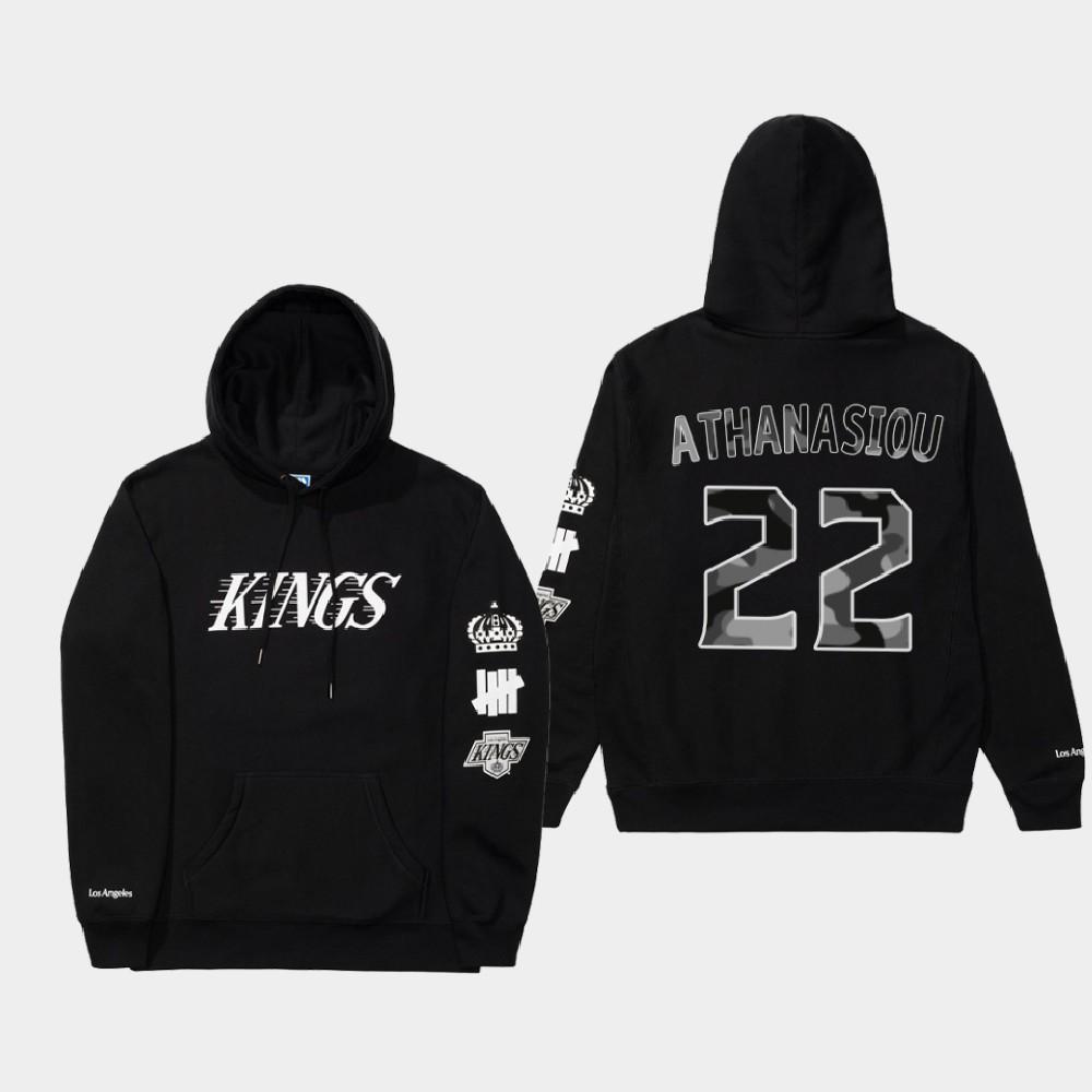 Men's Black Los Angeles Kings Andreas Athanasiou Undefeated X LA Kings Hoodie