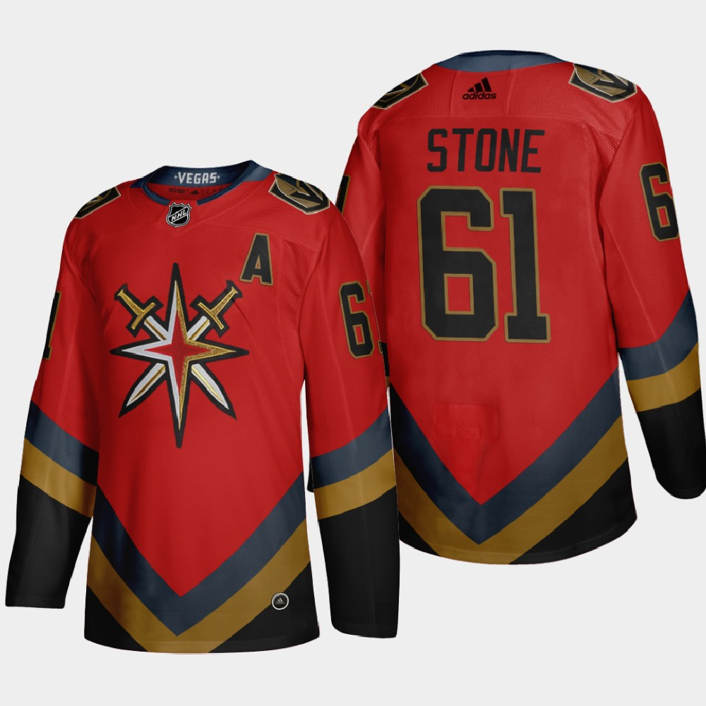 Men's Jersey Reverse Retro Red Vegas Golden Knights Mark Stone