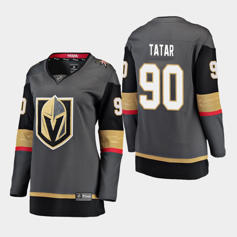 Jersey Home Vegas Golden Knights Black Women's Tomas Tatar