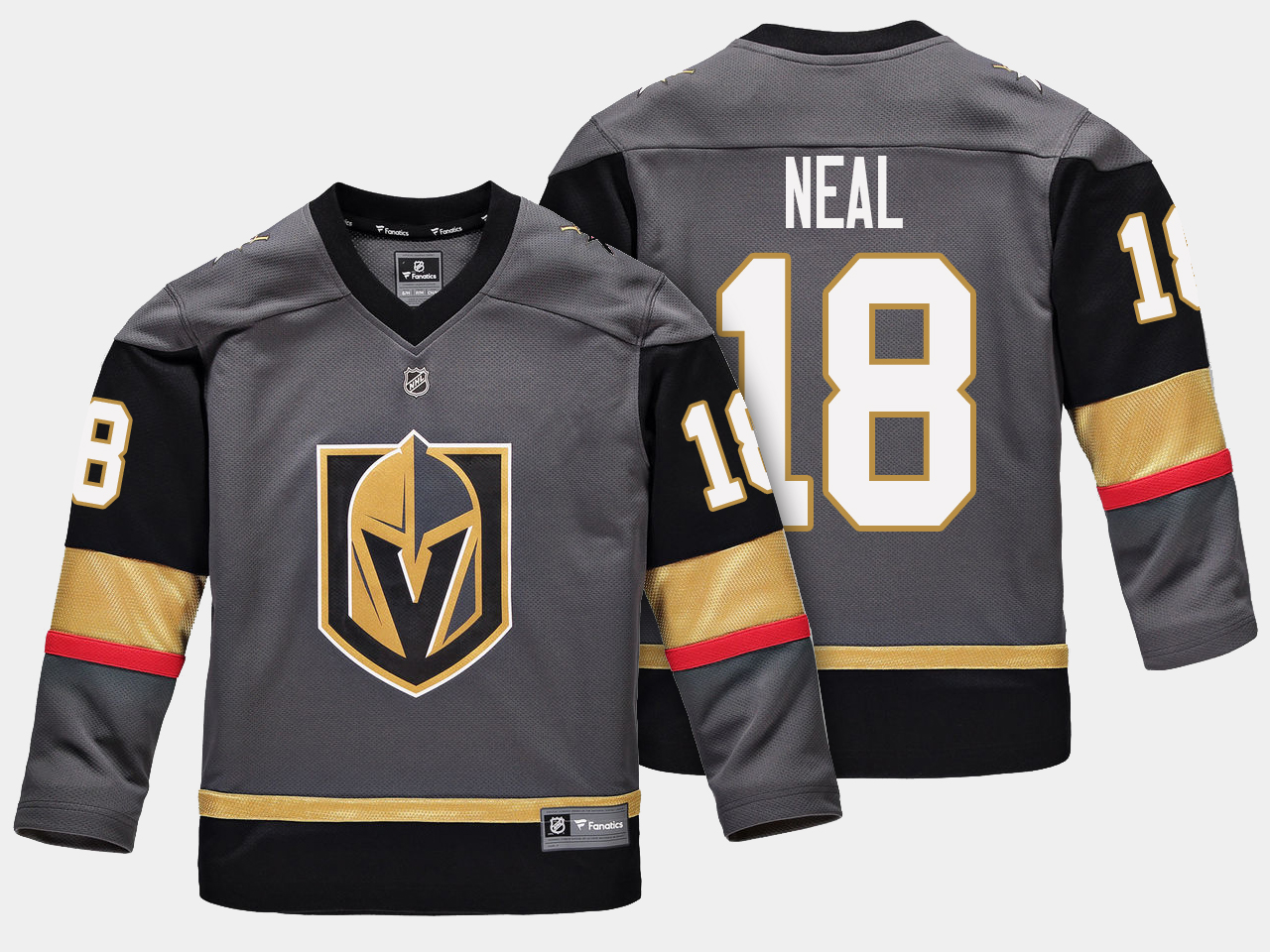 Jersey Home Vegas Golden Knights Black Youth James Neal