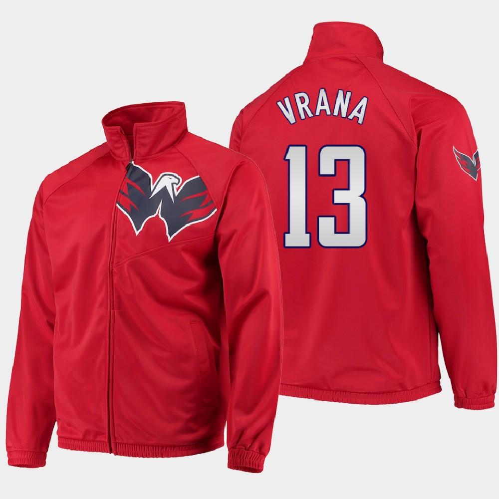 Men's Red Washington Capitals Jakub Vrana Jacket G-III Sports
