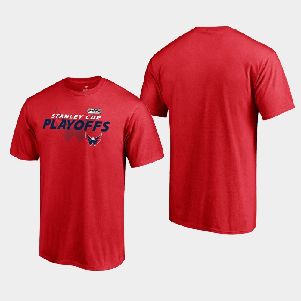 Men's Red Washington Capitals 2021 Stanley Cup Playoffs T-Shirt