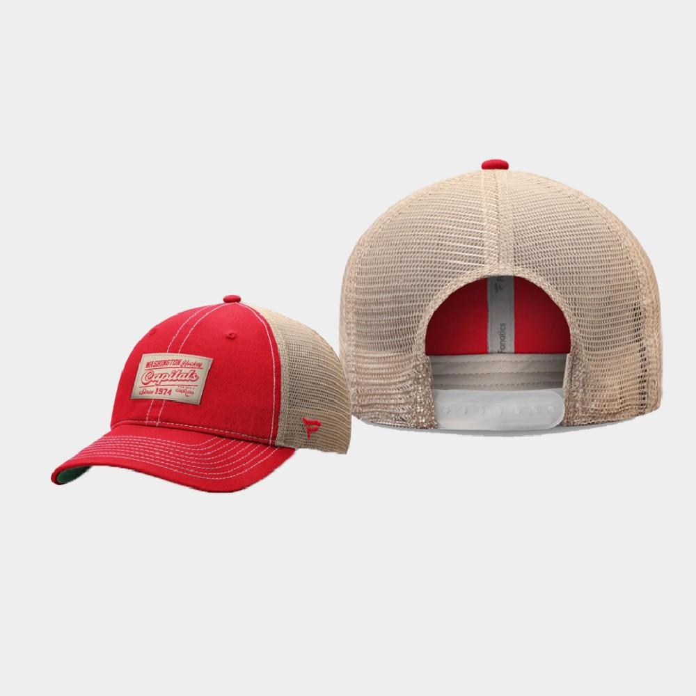 Men's Red Washington Capitals Classics Hat