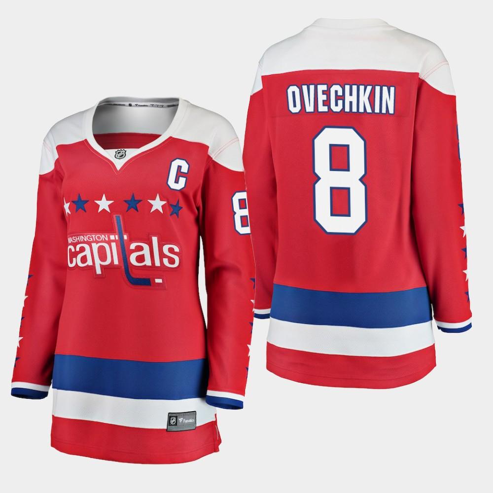 Jersey Red Alternate Washington Capitals Women's Alex Ovechkin