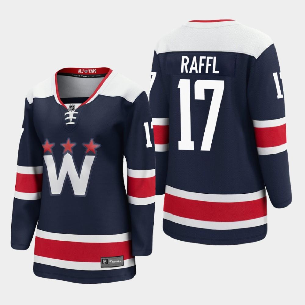 Jersey Navy Alternate Washington Capitals Women's Michael Raffl