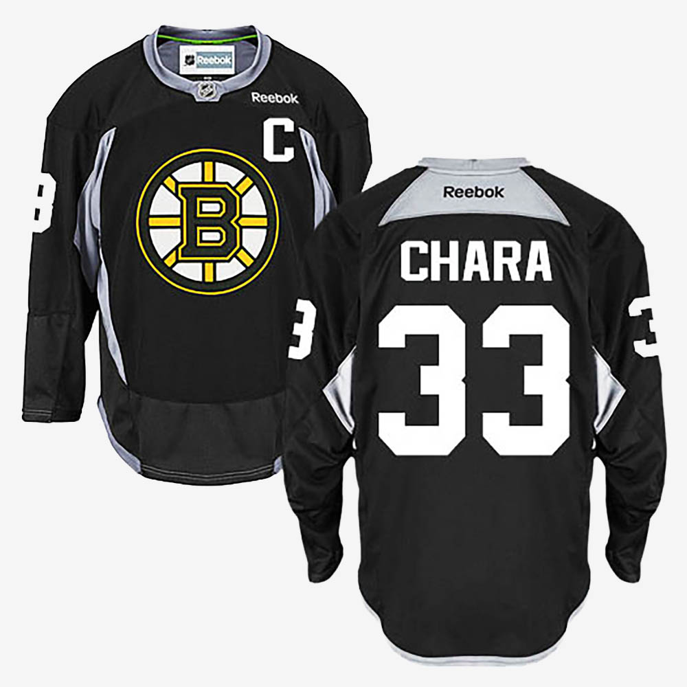 Men's Jersey Black Zdeno Chara Boston Bruins