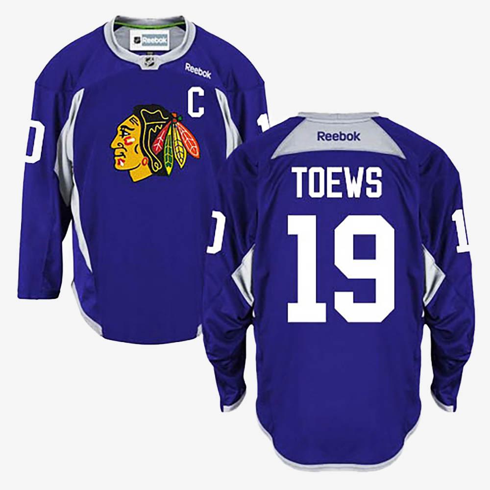 Men's Jersey Chicago Blackhawks Jonathan Toews Purple