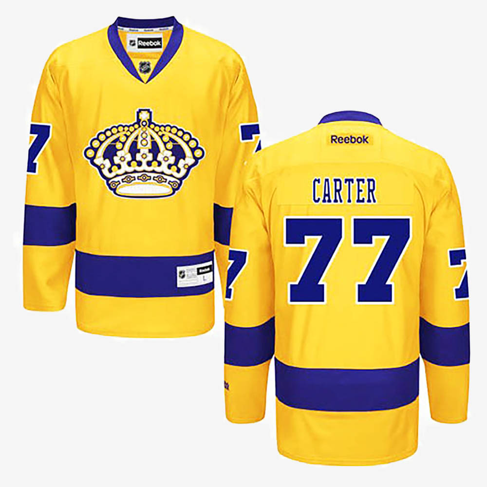 Jersey Los Angeles Kings Alternate Youth Gold Jeff Carter