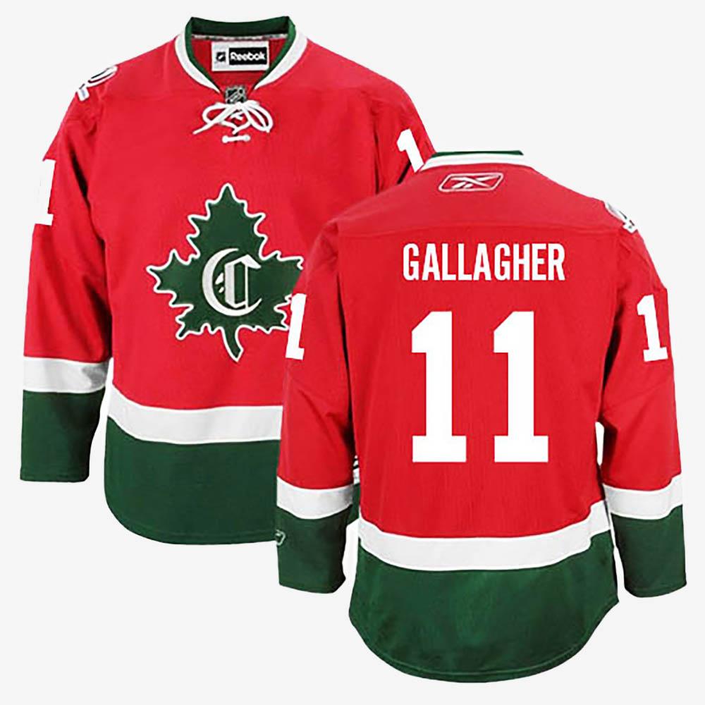 Men's Jersey Red Alternate Montreal Canadiens Brendan Gallagher