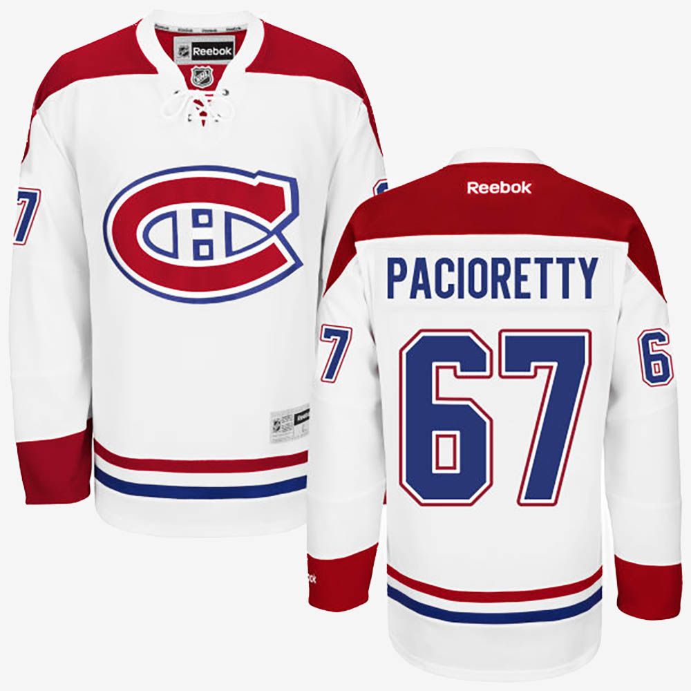 White Men's Jersey Montreal Canadiens Max Pacioretty Road