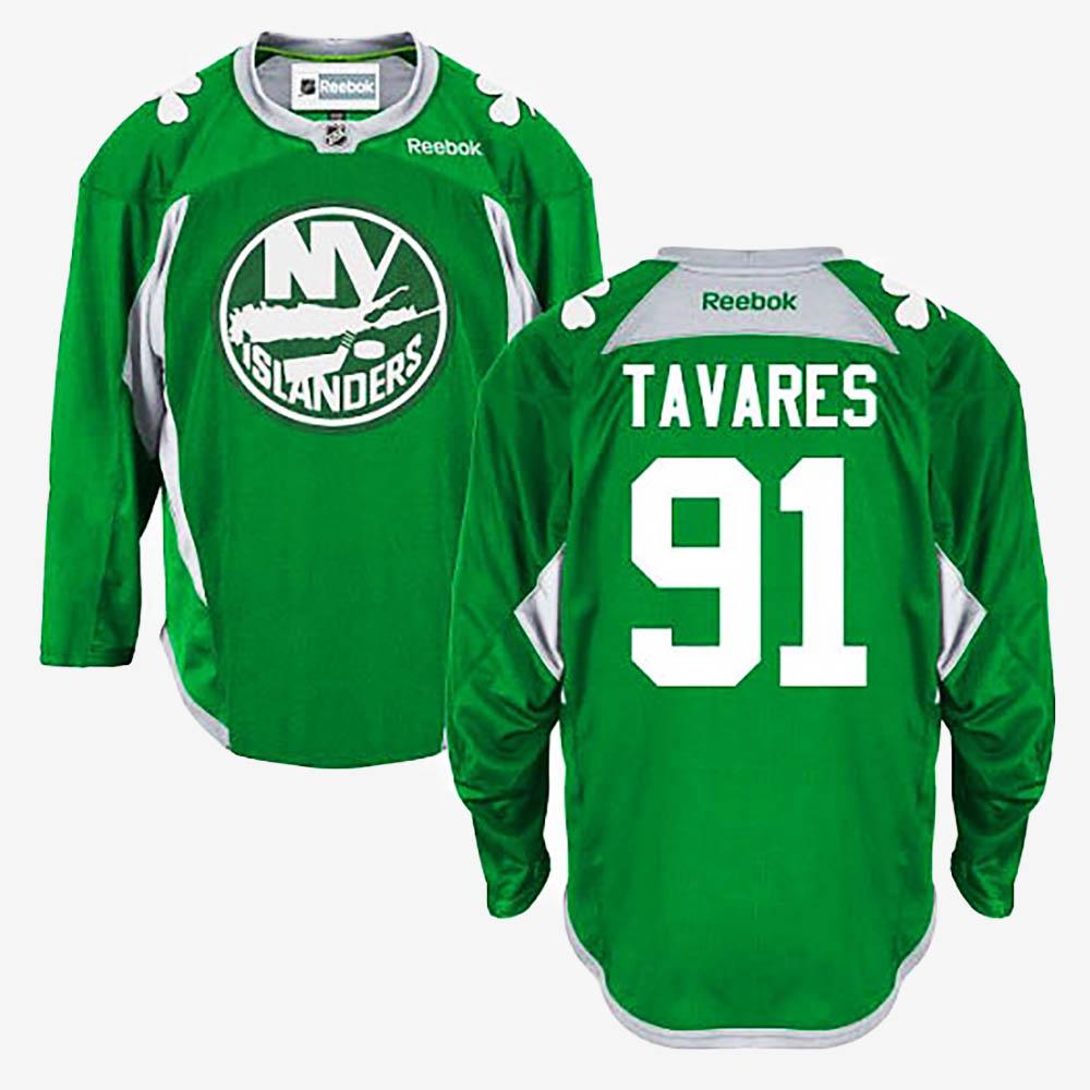 Men's Jersey Green New York Islanders John Tavares