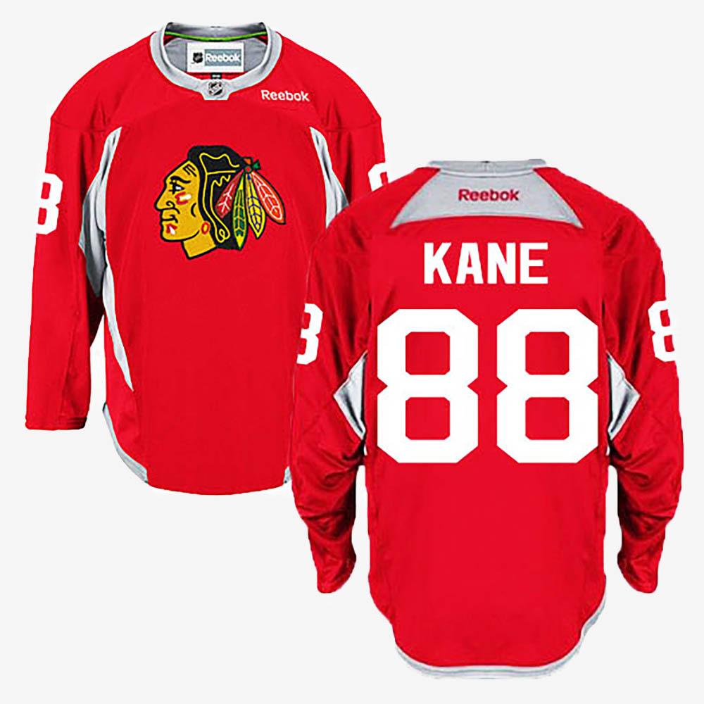 Men's Jersey Red Chicago Blackhawks Patrick Kane
