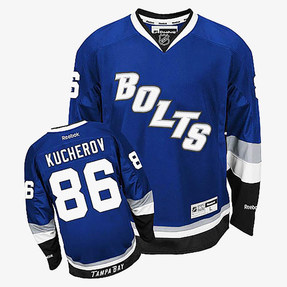 Men's Jersey Alternate Tampa Bay Lightning Nikita Kucherov Royal Blue
