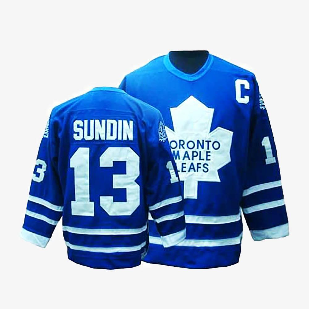 Men's Jersey Toronto Maple Leafs Throwback Mats Sundin Royal Blue